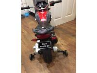 Kids BMW electric bike