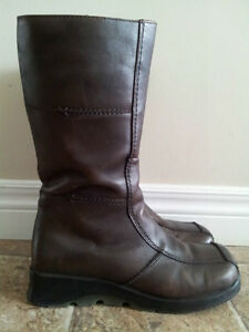 Spring Leather Boots (size 38B)
