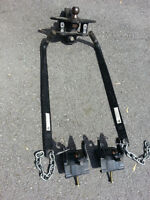Husky weight distribution hitch complete