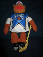 MUPPETS 'FOZZIE BEAR' NHL GOALIE