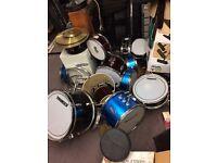 Job lot of kids drums £20