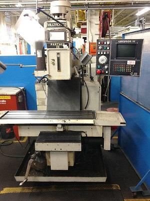 Milltronics Partner Iv Cnc Vertical Machining Center - 28027
