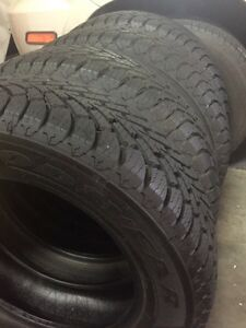 New 225/65/17 Winter tires Goodyears