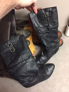 4 pairs of various boots  Strathcona County Edmonton Area image 4
