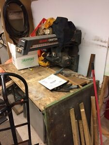 "CRAFSMAN 10"" CABINETMAKERS RADIAL ARM SAW"