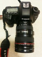 Canon 5D MK II with Lens and Accessories ShutterCount: 12051