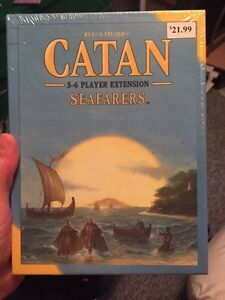 Brand New Settlers of Catan Seafarers Extension