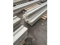 9ft intermediate concrete posts
