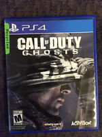PS4 Call of Duty: Ghost for sale