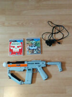 Kit PS Move + Sharshooter + 2 Games