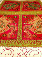 COUVRE-LIT NEUF DE L'INDE - BRAND NEW BED COVER FROM INDIA