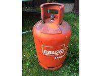 Propane gas cylinder (full)