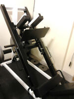 Northern lights leg press/hack squat machine