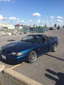 98 super charged mustang. $8500 or best offer.