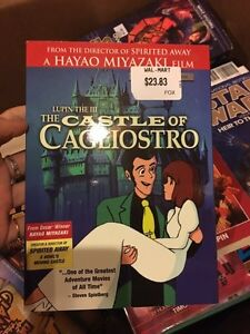 Dragon all Z DVDs, Castle of Cagliostro Anime Kitchener / Waterloo Kitchener Area image 2