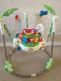 Fisher Price Rainforest Jumperoo - immaculate condition