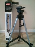 OPTEX T-260 CAMERA-MOUNT TRIPOD, AS NEW IN BOX