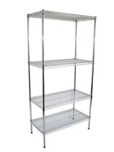 EPOXY & CHROME WIRE SHELVING PRICES FROM $135 Osborne Park Stirling Area Preview