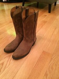 Brown leather Cowboy boots - Women 10.5