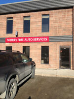 WORRY FREE AUTO SERVICES DONE IT RIGHT AT THE FIRST TIME