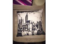Skyline small fashion cushion