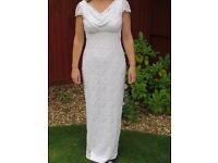 BHS wedding dress size 8
