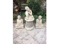 Concrete Buddha set