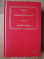 Lexicon of Canadian Stratigraphy Vol.4 (NEW)