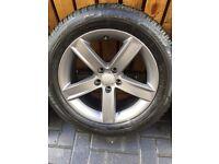 "Audi A4 Allroad 17"" alloy wheel"