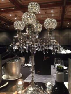 WEDDING & EVENT HIRE - Crystal Candelabras
