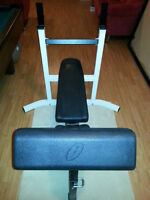 Northern Lights Bench Press Incline Press with Preacher Curl