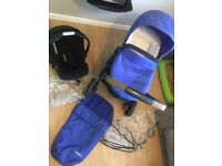 2016 Xpedior 3 in 1 Travel System