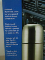 large heated thermos...(a must for the traveller!!)