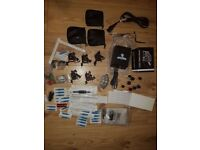 tattoo kit comes with powerpack guns needles immortal ink sample pack