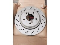 Bmw e46 m3/csl rear disc brand new, zimmerman
