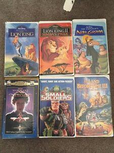 Various VHS movies