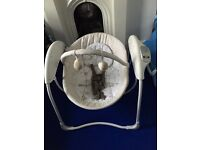 GRACO BABY GLIDER SWING - Excellent Condition