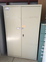 Storage Cabinets (Supply Cabinets), 2 doors, large and small, al