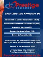RCR DEA PS SA 14 Novembre Places Disponibles!