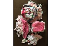 Huge bundle of girls newborn and 0-3 clothes