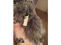 New look faux fur headband - brand new