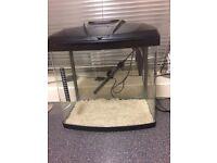 Fish tank nearly new
