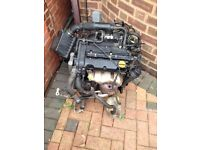 VAUXHALL CORSA d 1.2 engine z12xeb spares and repairs