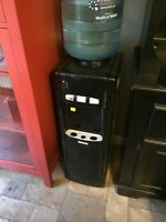 HomeStyles Black Water Cooler , Hot + Cold (in Niverville)