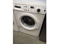 New Graded Bosch WAQ283S1GB Washing Machine 8kg - White