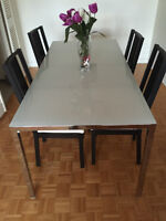 4-Chair Dining Set