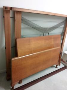 Antique double bed plus mattress for sale Dakabin Pine Rivers Area Preview
