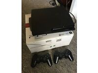 Playstation 3 (160GB) bundle, 2 controllers and 9 games