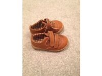 Mothercare brown shoes infant boy size 5