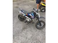 Stomp juice box 3 110 pitbike